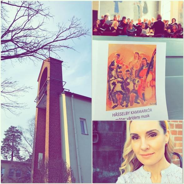 Hässelby Villastads kyrka, Hässelby Kammarkör and Hannah Holgersson