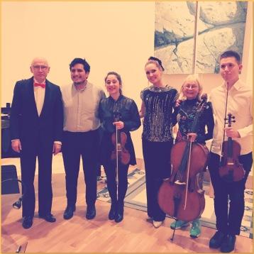 Göran Nygren, Otto Huanuco, Alexandra Bakiu, Hannah Holgersson, Anna Hoffstedt and Anton Gäfvert.