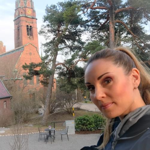 Hannah Holgersson at Uppenbarelsekyrkan, Saltsjöbaden