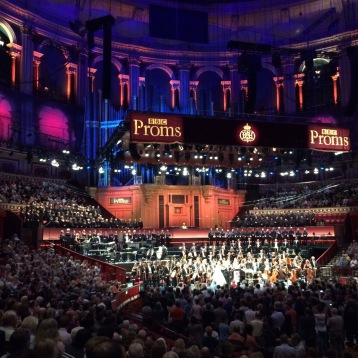 Standing ovation at the Royal Albert Hall for Sirens by Anders Hillborg!