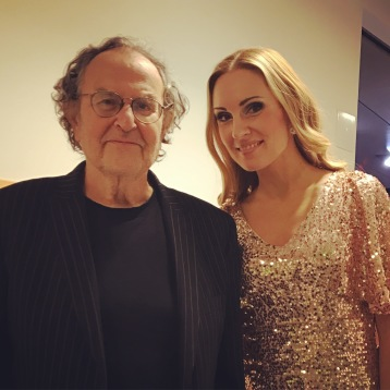 Georg Riedel and Hannah Holgersson at Uppsala Konsert & Kongress