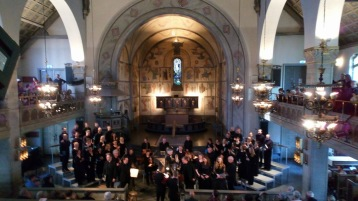 St John Passion by J S Bach at St Matthew's Church, Stockholm. Photo: Anne Bylund