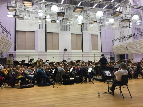 BBC Philharmonic, conductor Clark Rundell and Anders Hillborg