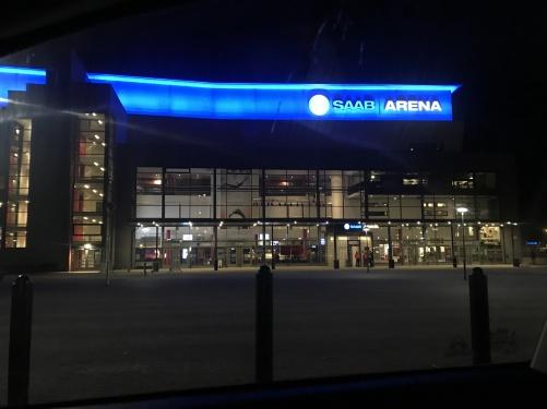 Champions of Rock at Saab Arena, Linköping.