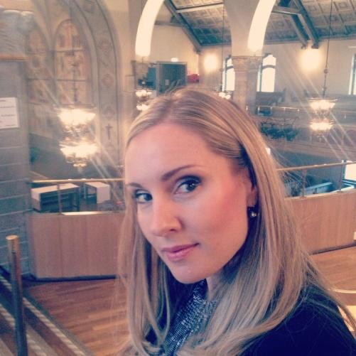 Hannah Holgersson at S:t Matteus kyrka