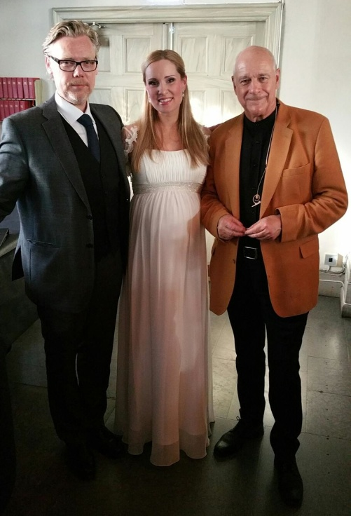 Karl-Magnus Fredriksson, Hannah Holgersson and Tomas Bolme