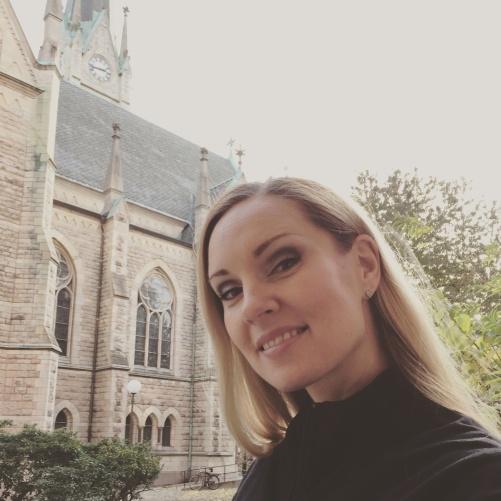 Hannah Holgersson at Oscarskyrkan