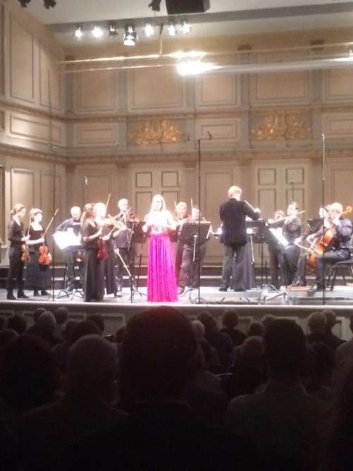 Hannah Holgersson and Musica Vitae performing Benjamin Britten. Photo: Carl Unander-Scharin