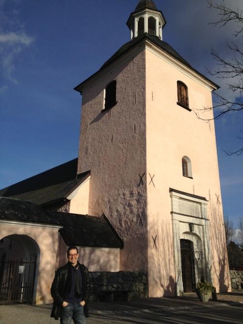 Mikael Bellini at Västra Ryds kyrka