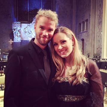 Carl Ackerfeldt and Hannah Holgersson