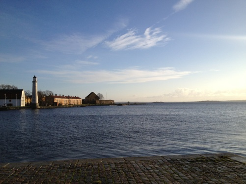 Karlskrona bathing in sunshine!