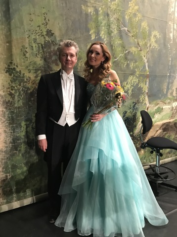 Staffan Larson and Hannah Holgersson at Ystad Theatre