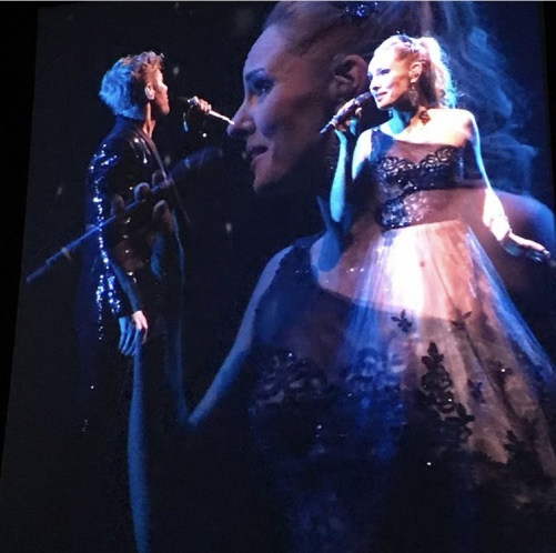 Peter Johansson and Hannah Holgersson in Barcelona by Queen at Scandinavium. Photo: Anneli Elving