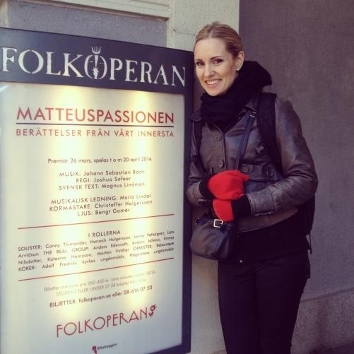 Hannah Holgersson at Folkoperan, Stockholm
