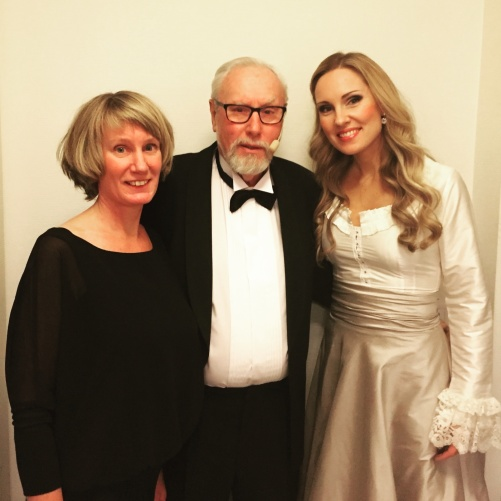 Anna Sixtensson, Ingemar Sixtensson and Hannah Holgersson