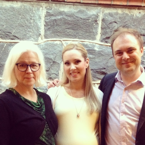 Gunilla Tornving, Hannah Holgersson and Daniel Möller