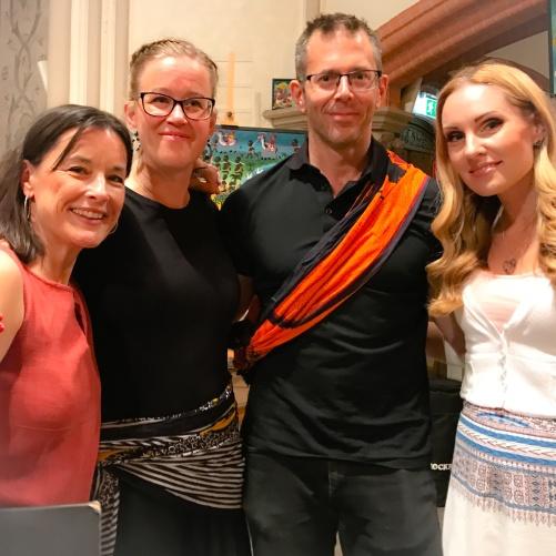 Ulla-Carin Börjesdotter, Hanna Sandman, Pär Olofsson and Hannah Holgersson