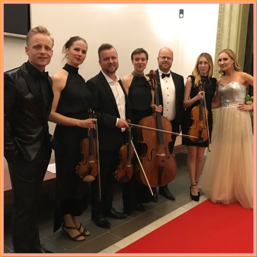 From the left: Andreas Weise, Kristina Ebbersten, Andreas Forsman, Adina Sabin, Joakim Holgersson, Anna Manell and Hannah Holgersson
