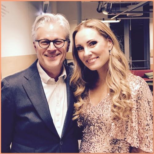 Mats Bergström (guitar) and Hannah Holgersson at Uppsala Konsert & Kongress