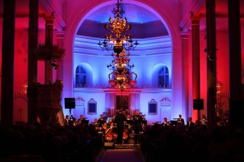 New Year Concert tour at Siljansnäs kyrka. Photo: Bengt Jägerskog