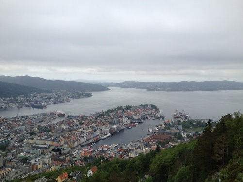 Bergen from above! Magnificent view!
