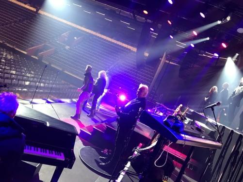 Soundcheck Champions of Rock Kraft Arena Skellefteå