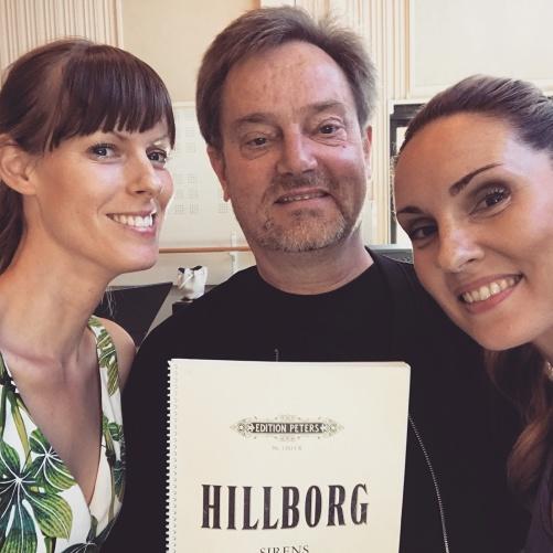 Ida Falk Winland, Michael Engström and Hannah Holgersson