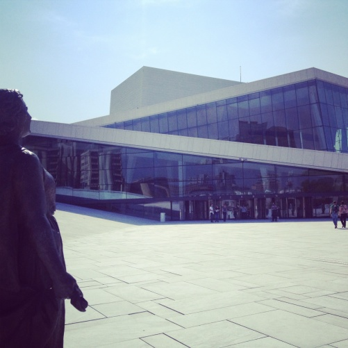 Rehearsal at the Oslo Opera!