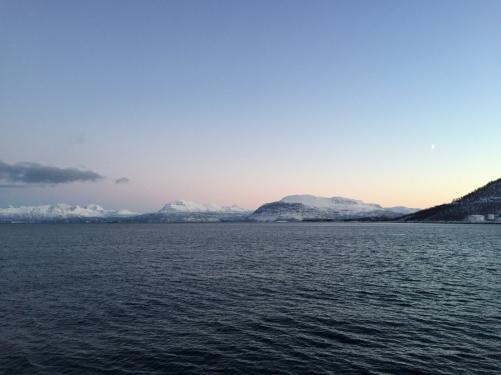 Harstad by sea