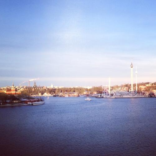 The view by Ersta kyrka, Stockholm