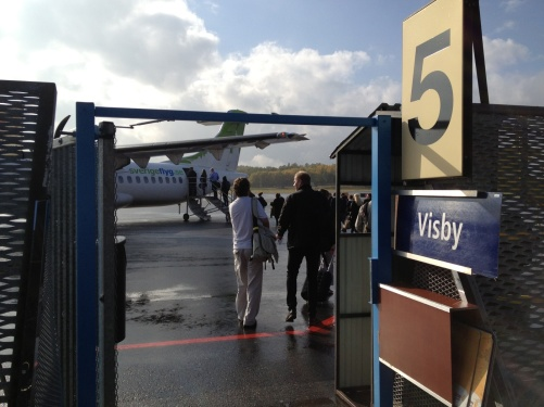Departure Visby with the Eric Ericson Chamber Choir.