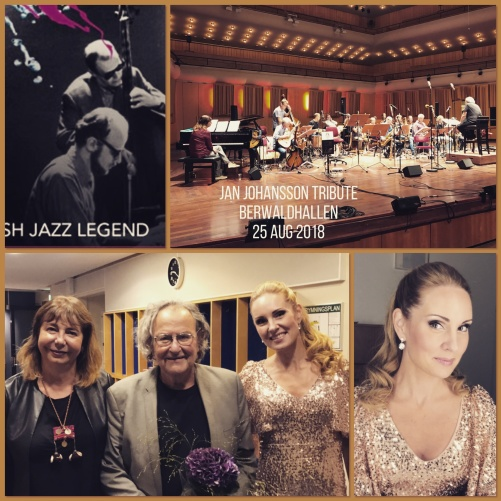 From the left on the bottom picture: Rita Macrotulli - piano, Georg Riedel and Hannah Holgersson