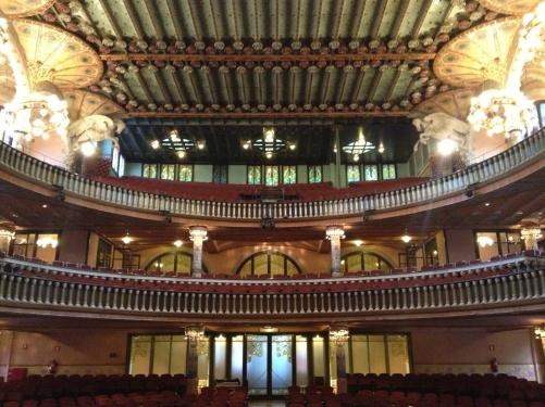 Palau de la Música from the inside!
