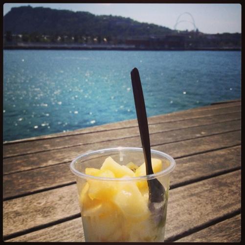 Ice cream in the sunshine!!!