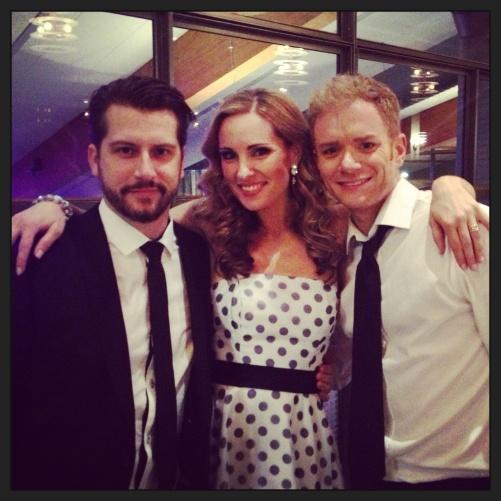 Sebastian Robertsson, Hannah Holgersson and Peter Johansson! Great trio!=)