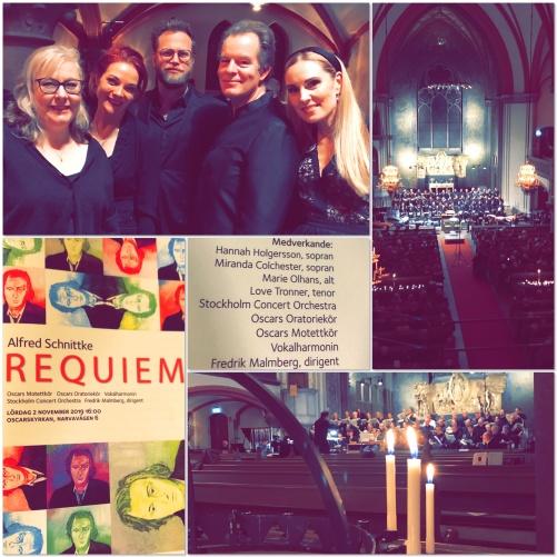 Requiem by Alfred Schnittke in Oscarskyrkan, Stokcholm