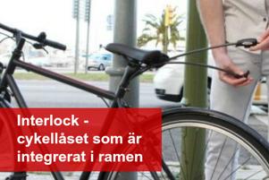 Interlock cykellås fs