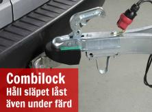 Combilock lås släpvagn