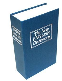 Kassaskåp / gömställe bok lexikon