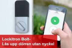 Lockitron digitalt dörrlås