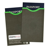 Passficka med RFID-skydd, mot skimming