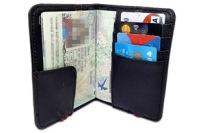 Reseplånbok kort rfid skydd