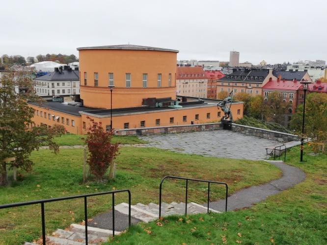 Receptionen Regus Ringvägen 100 9 tr                   Foto: Helena Forne- Wästlund