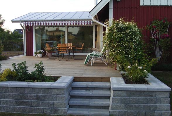 KB Bygg Halmstad, Halland bygger och renoverar altan, uterum, vinterträdgård eller uteplats