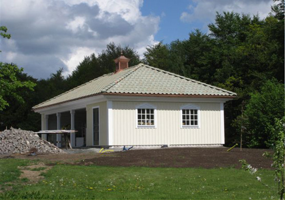 Byggfirman KB Bygg i Halmstad bygger & renoverar garage & carportar i Halmstad & hela Halland