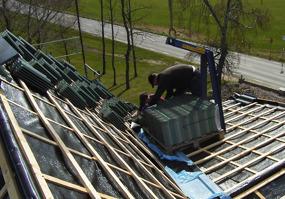 Byggfirma i Halmstad, Halland med lokala snickare & takläggare som utför renovering av tak och takbyten