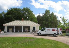 Byggfirma i Halmstad, Halland med lokala snickare & hantverkare - vi bygger garage och caportar