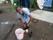 Wema tvättar skorna
