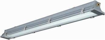 Skärmad lysrörsbelysning - Amak HF dikt mot tak eller lina nerljus IP65