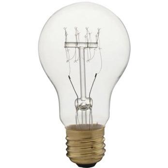 Koltrådslampor Edison - A60 E27 60W Mått(BxH): 60x106mm